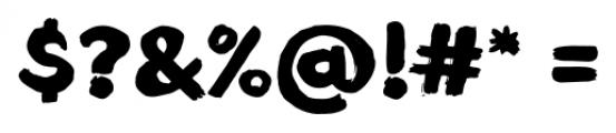 TT Blushes Black Font OTHER CHARS