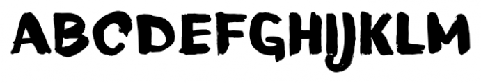TT Blushes Black Font UPPERCASE