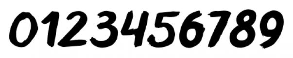 TT Blushes Bold Italic Font OTHER CHARS