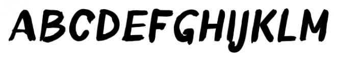 TT Blushes Bold Italic Font UPPERCASE