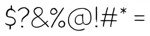TT Blushes Light Font OTHER CHARS