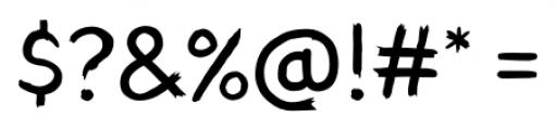 TT Blushes Regular Font OTHER CHARS