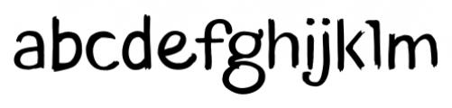 TT Blushes Regular Font LOWERCASE