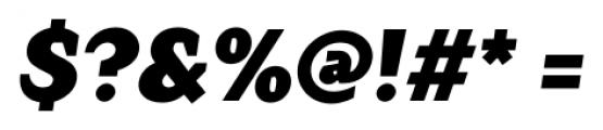 TT Crimsons Black Italic Font OTHER CHARS