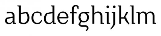 TT Crimsons Regular Font LOWERCASE