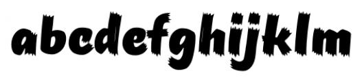 TT Masters Birds Black Font LOWERCASE