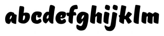 TT Masters Black Font LOWERCASE
