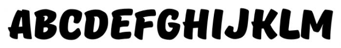 TT Masters DEMO Black Font UPPERCASE
