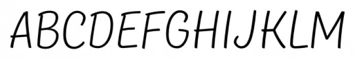 TT Masters Light Font UPPERCASE