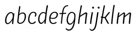 TT Masters Light Font LOWERCASE