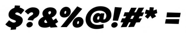 TT Souses Black Italic Font OTHER CHARS