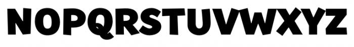 TT Souses Black Font UPPERCASE