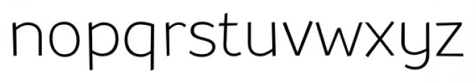 TT Souses Thin Bold Font LOWERCASE