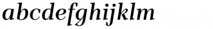 TT Barrels Demi Bold Italic Font LOWERCASE