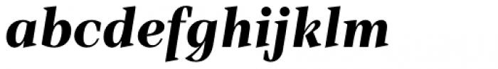 TT Barrels Extra Bold Italic Font LOWERCASE