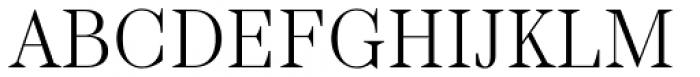 TT Barrels Light Font UPPERCASE