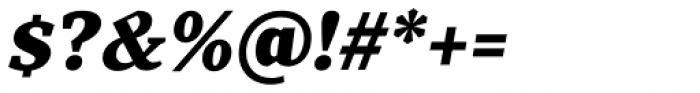 TT Bells Black Italic Font OTHER CHARS