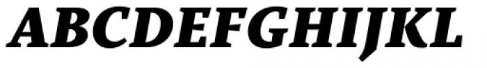 TT Bells Black Italic Font UPPERCASE