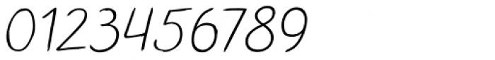 TT Blushes Light Italic Font OTHER CHARS
