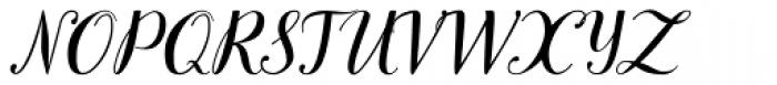 TT Books Script Font UPPERCASE