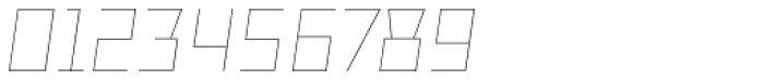 TT Bricks Hairline Italic Font OTHER CHARS