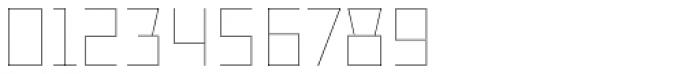 TT Bricks Hairline Font OTHER CHARS