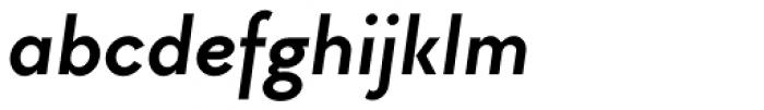 TT Chocolates Bold Italic Font LOWERCASE