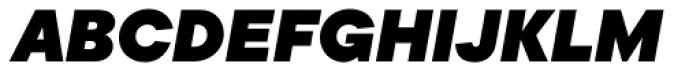 TT Commons Black Italic Font UPPERCASE