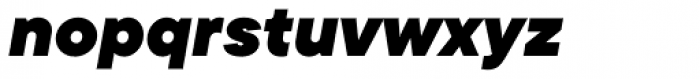 TT Commons Black Italic Font LOWERCASE