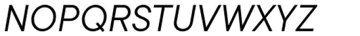 TT Commons Book Italic Font UPPERCASE