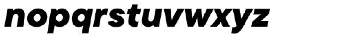 TT Commons Extra Bold Italic Font LOWERCASE