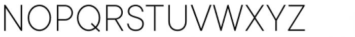 TT Commons Extra Light Font UPPERCASE