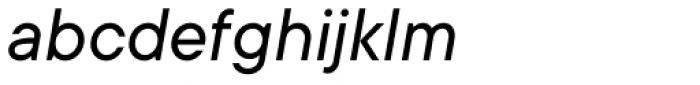 TT Commons Italic Font LOWERCASE