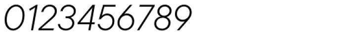 TT Commons Light Italic Font OTHER CHARS