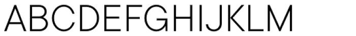 TT Commons Light Font UPPERCASE