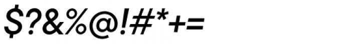 TT Commons Medium Italic Font OTHER CHARS