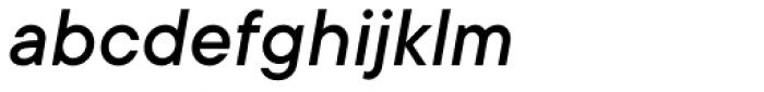 TT Commons Medium Italic Font LOWERCASE
