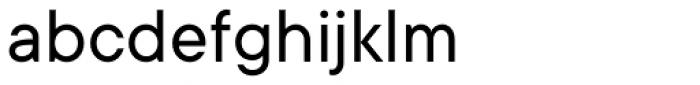 TT Commons Regular Font LOWERCASE