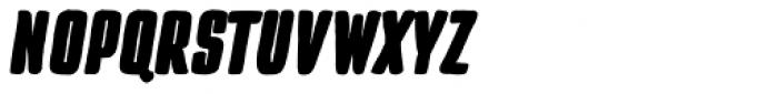 TT Cottons Black Italic Font UPPERCASE