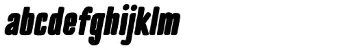 TT Cottons Black Italic Font LOWERCASE