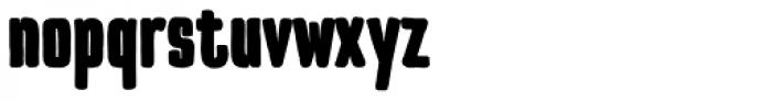 TT Cottons Black Font LOWERCASE