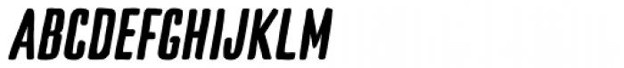 TT Cottons Bold Italic Font UPPERCASE
