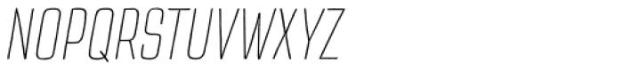 TT Cottons Extra Light Italic Font UPPERCASE