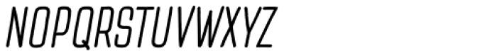 TT Cottons Italic Font UPPERCASE