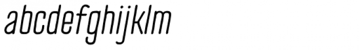 TT Cottons Italic Font LOWERCASE