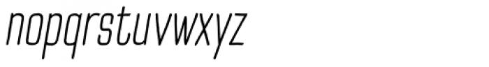 TT Cottons Light Italic Font LOWERCASE