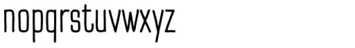 TT Cottons Regular Font LOWERCASE