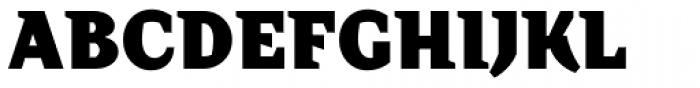 TT Crimsons Black Font UPPERCASE