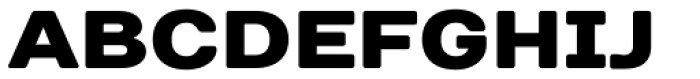 TT Days Sans Black Font UPPERCASE