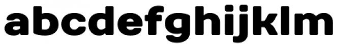 TT Days Sans Black Font LOWERCASE